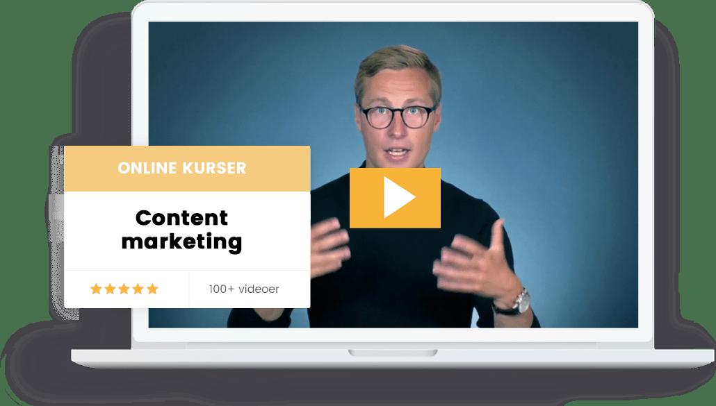 Content marketing kurser