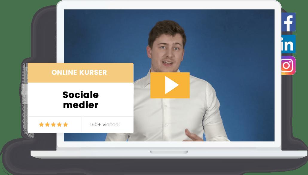 Facebook annoncerings kurser, instagram og linkedin