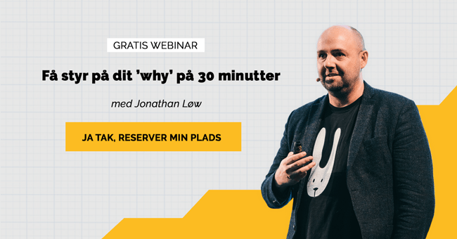 Webinar hvordan finder man sit why