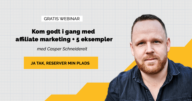 Webinar Hvad er affiliate marketing