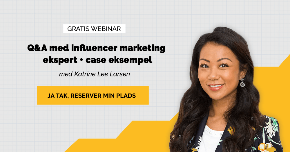 Webinar influencer marketing